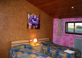 Dormitorio doble semiabuhardillado
