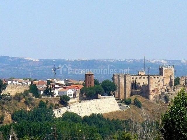 Vistas del paisaje de Escalona
