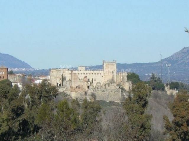 Zona del casco antiguo de Escalona