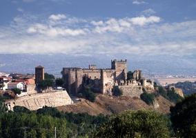 Zona del castillo de Escalona