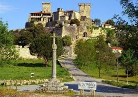 Zona del castillo de Monterrei