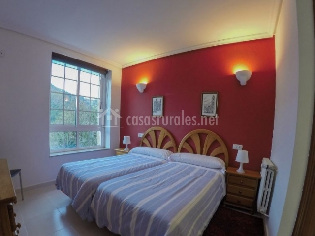 Dormitorio Doble 2 con ventana