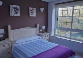 Dormitorio Doble 1 con cristaleras