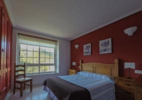Dormitorio Doble 2 con armarios