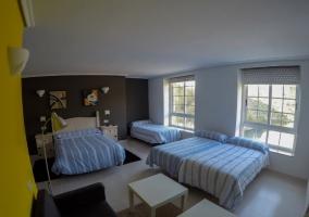 Dormitorio Familiar 2 amplio