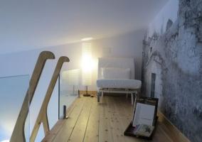Sala de estar y el altillo