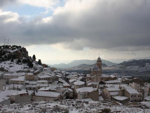 Zonas nevadas de Oria
