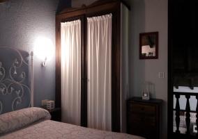 Dormitorio totalmente equipado