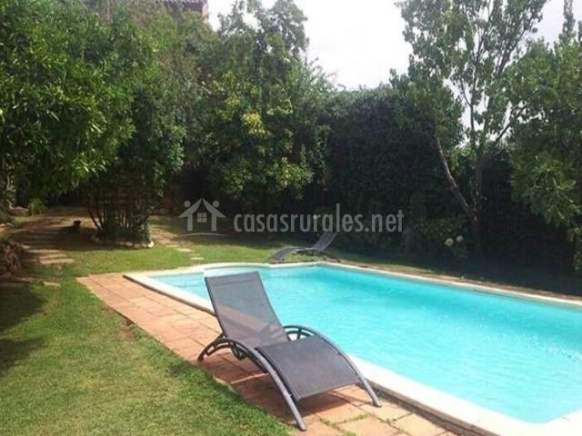 Casa donatila en villasbuenas de gata c ceres - Hamacas de piscina ...