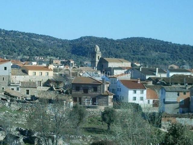 Zona centro con vistas del pueblo