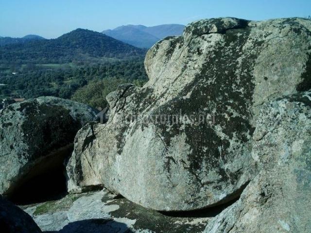 Zonas naturales con espacios rocosos