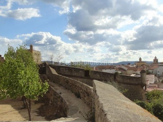 Zona de vistas desde el castillo