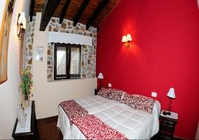 Dormitorio doble con 2 camas individuales