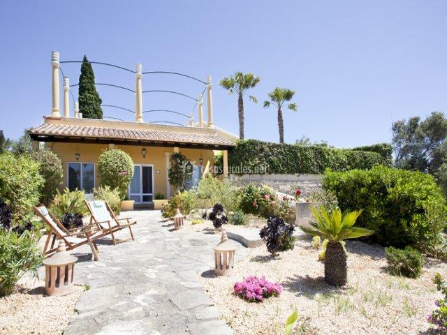 Jardín Casa de Invitados