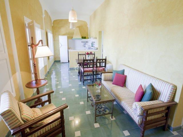 Sala de estar de Casa de Invitados