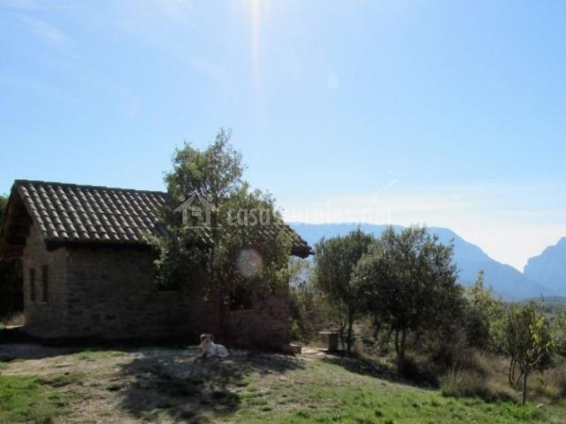 Terra del congost la casa petita casa rural en castissent lleida - Casa rural terra ...
