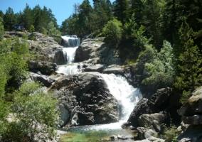 Cascada en el Val d'Echo