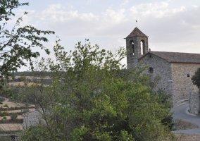 Vistas iglesia del pueblo