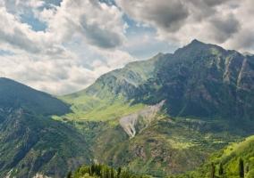 Zona del valle en el entorno
