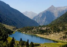 Zona del valle en verano