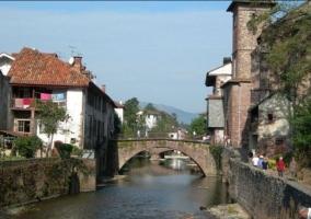Zona del puente en el entorno del pueblo