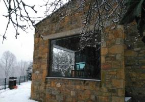 Exterior nevado