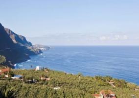 Zonas naturales con vistas de las playas