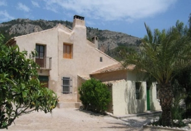 Masia l'Ancòrnia- La Casa Grande - Tibi, Alicante