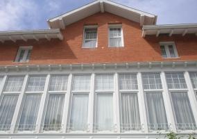 Detalles de la fachada