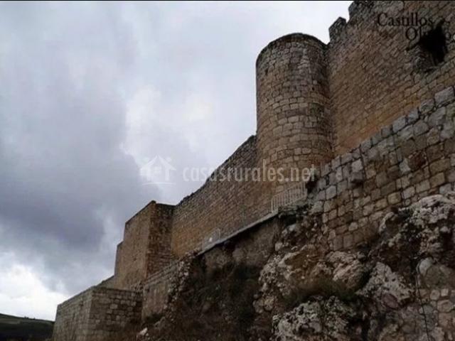 Zona de las murallas del castillo
