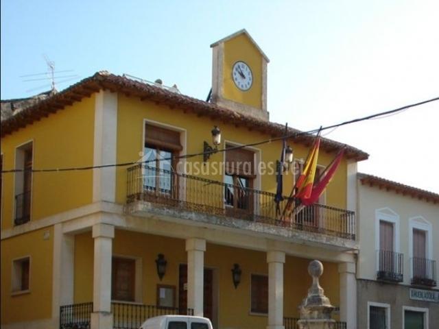 Zona del Ayuntamiento de Jadraque