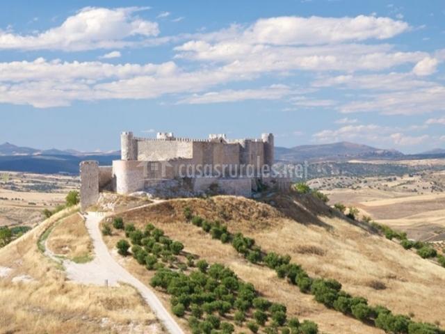 Zona del castillo de Jadraque
