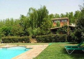 Acogedora piscina