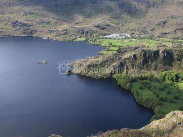 Vista del Lago de Sanabria