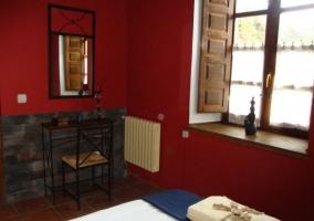 Apartamento Mora vista del dormitorio