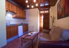 Apartamento Manzana Salón-cocina