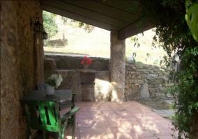 Amplias vistas del porche