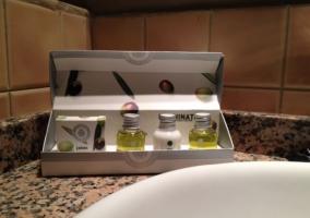 Aseo con productos de higiene