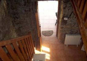 Vistas de la entrada desde la planta de arriba