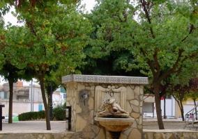 Fuente parque de la Paz