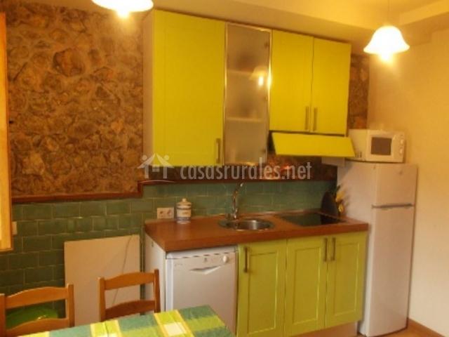 Apartamento Covadonga Cocina
