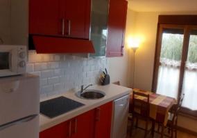 Apartamento Llanes Cocina-comedor
