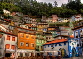 Casas de colores en Cudillero