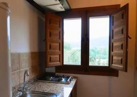 Cocina 6 con ventanas