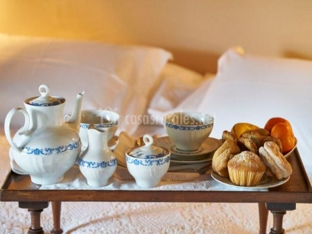 Dormitorio y desayuno