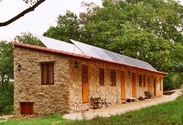 A Casa da Terra- Cabañas - Antas De Ulla (Casco Urbano), Lugo