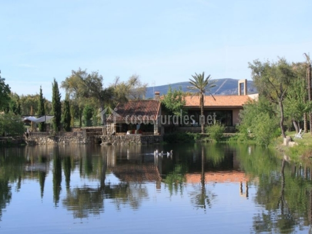 Salón del lago y sus vistas