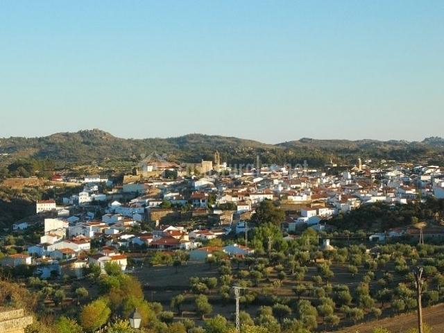 Zona del casco urbano del pueblo