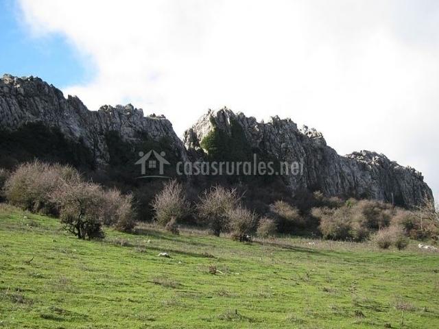 Paisaje de la Sierra de las Cabras