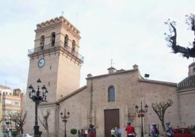 La plaza de la localidad